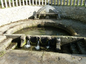 Southam's Holy Well is way-marked from the town centre
