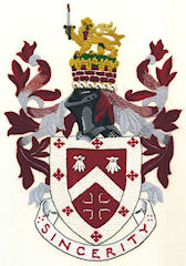 Southam Embroideries Southam Town Crest