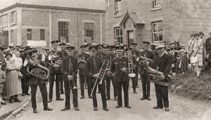 Bishop's Itchington Band 1920s