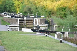 Locks at Long Itchington
